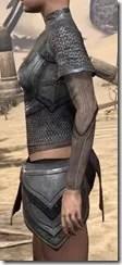 Redguard Steel Cuirass - Female Side