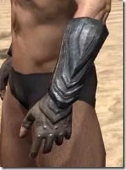 Redguard Steel Gauntlets - Male Side