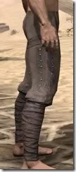 Redguard Steel Greaves - Male Right