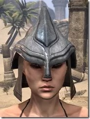 Redguard Steel Helm - Female Front