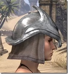 Redguard Steel Helm - Female Right