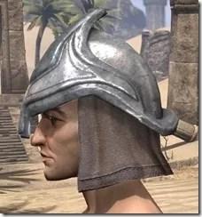 Redguard Steel Helm - Male Side