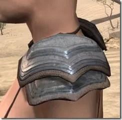Redguard Steel Pauldron - Female Side