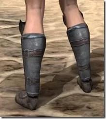 Redguard Steel Sabatons - Female Rear