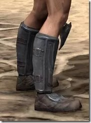 Redguard Steel Sabatons - Male Right