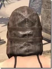 Renegade Dragon Priest Mask - Female Rear