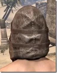 Renegade Dragon Priest Mask - Male Rear