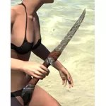 Wood Elf Steel Dagger