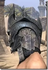 Worm Cult Iron Helm - Male Side