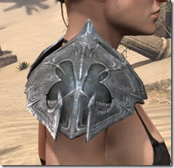 Worm Cult Iron Pauldron - Female Right