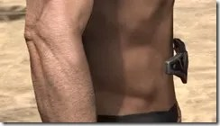 Worm Cult Rubedo Leather Belt - Male Right