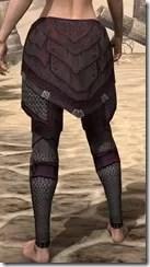 Worm Cult Rubedo Leather Guards - Female Rear
