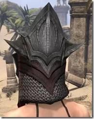 Worm Cult Rubedo Leather Helmet - Female Rear
