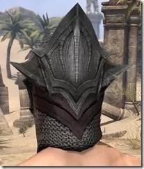Worm Cult Rubedo Leather Helmet - Male Rear