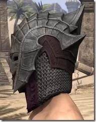 Worm Cult Rubedo Leather Helmet - Male Side