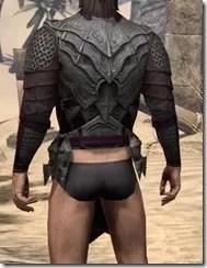 Worm Cult Rubedo Leather Jack - Male Rear