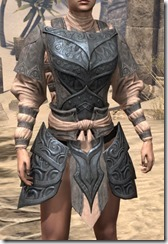 Abah's Watch Cuirass - Female Front