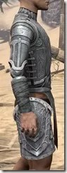 Apostle Iron Cuirass - Male Right
