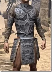 Celestial Iron Cuirass - Male Front