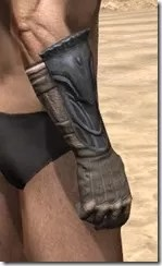 Celestial Iron Gauntlets - Male Right