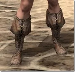 Cuffed Boots - Female Front