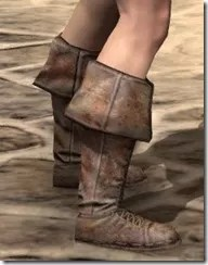 Cuffed Boots - Female Right