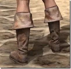 Cuffed Boots - Male Rear