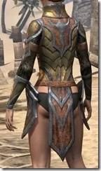 Dark Elf Dwarven Cuirass - Female Rear