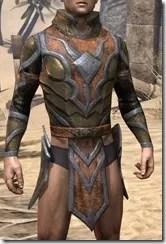 Dark Elf Dwarven Cuirass - Male Front