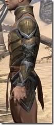Dark Elf Dwarven Cuirass - Male Side