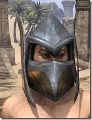 Dark Elf Dwarven Helm - Male Front