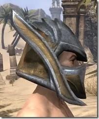 Dark Elf Dwarven Helm - Male Right