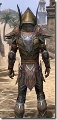 Dark Elf Dwarven - Male Close Rear