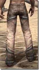 Dark Elf Homespun Breeches - Male Rear