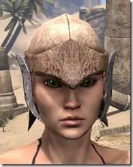 Dark Elf Homespun Hat - Female Front