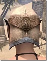 Dark Elf Homespun Hat - Female Rear