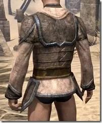 Dark Elf Homespun Jerkin - Male Rear