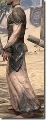 Dark Elf Homespun Robe - Male Side