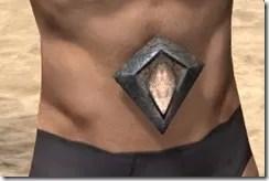 Dark Elf Homespun Sash - Male Front