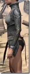 Dark Elf Iron Cuirass - Female Side