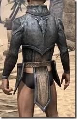 Dark Elf Iron Cuirass - Male Rear