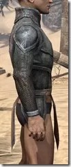 Dark Elf Iron Cuirass - Male Right