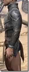 Dark Elf Iron Cuirass - Male Side