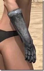 Dark Elf Iron Gauntlets - Female Right