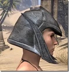 Dark Elf Iron Helm - Female Right