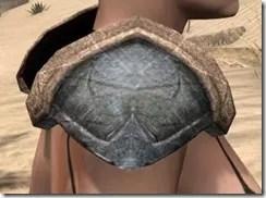 Dark Elf Iron Pauldron - Female Right