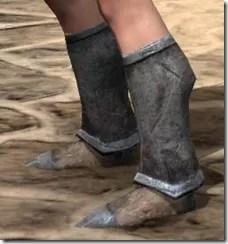 Dark Elf Iron Sabatons - Female Side
