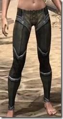 Dark Elf Orichalc Greaves - Female Front