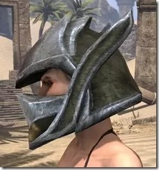 Dark Elf Orichalc Helm - Female Side