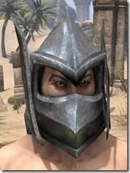 Dark Elf Orichalc Helm - Male Front